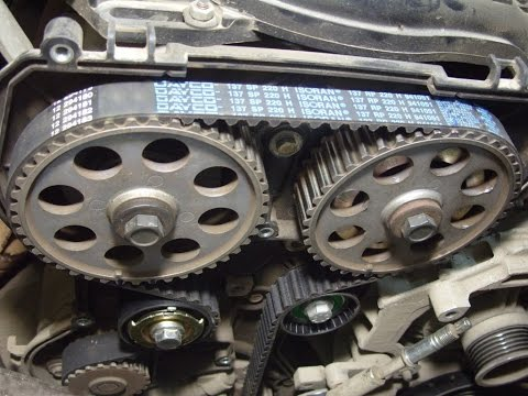 Замена ремня и роликов ГРМ ВАЗ 2110-2112 1,6 16V