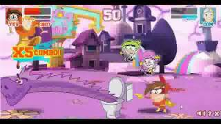 getlinkyoutube.com-SB2- Timmy vs Aang, Sheen vs Jimmy