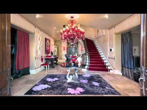 Christina Aguilera's Home: Exclusive Photos - Celebrity Home News
