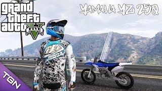 getlinkyoutube.com-GTA V - Yamaha YZ 250 (Download) MY FIRST MOTO!!