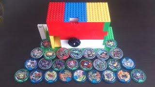 getlinkyoutube.com-レゴで作った妖怪メダルのガチャガチャ