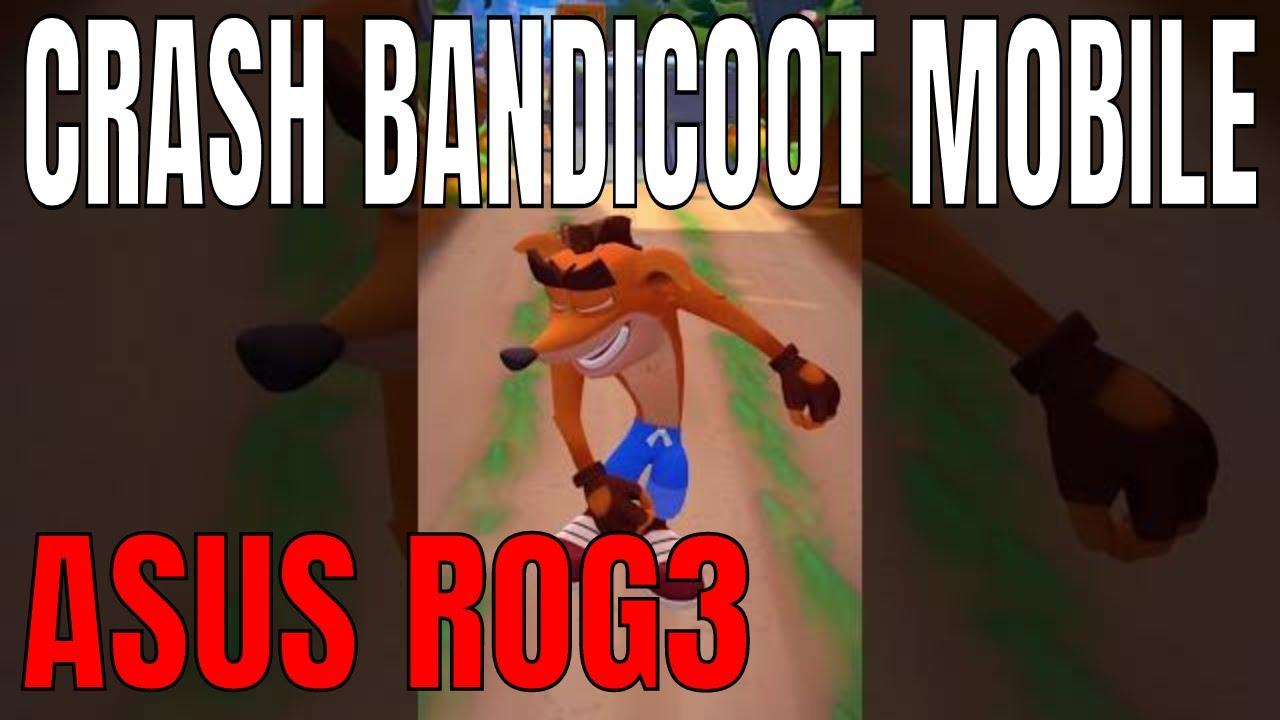 Crash Bandicoot mobil
