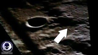 KILLER Evidence Of Aliens On The Moon In Apollo Film Footage 2/1/2016