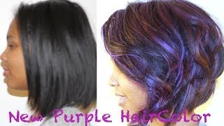 getlinkyoutube.com-How to Color Your Hair Purple and Keep it Healthy