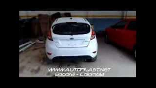 getlinkyoutube.com-BodyKit Ford Fiesta HB 2011 AUTOPLAST BODYWORX