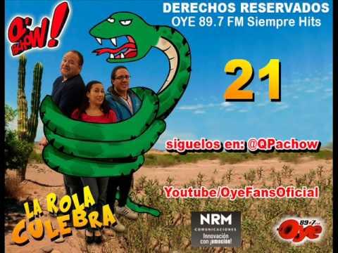 Rola Culebra 21 Te apesta el bollo y La tigresa de oriente