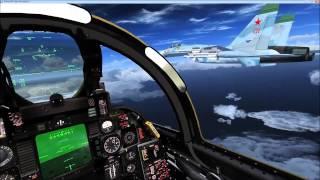 getlinkyoutube.com-FSX Aerosoft F14 carrier ops and SU27 interception misson