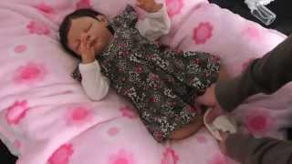 getlinkyoutube.com-Reborn baby // Bebe reborn Lourdes, por Chiquitines Reborns.