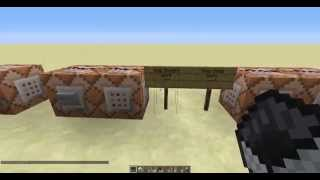 Minecraft Setblock Tutorial/ Hollywood Tower of Terror Update 2