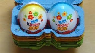 getlinkyoutube.com-Kinder Joy [Easter Egg 2Pack] III