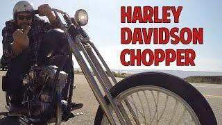 getlinkyoutube.com-1966 Harley-Davidson Chopper: Born Free 6 Invited Builder Caleb Owens