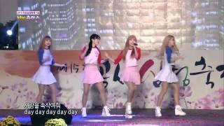 151008 하디(HADY)-헬로(hello) 곡성심청축제 방송영상