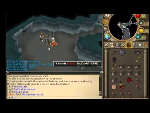 SayX (Friend) Getting 99 Slayer + Range