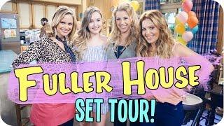 getlinkyoutube.com-Fuller House Set Tour & Meeting the Cast!