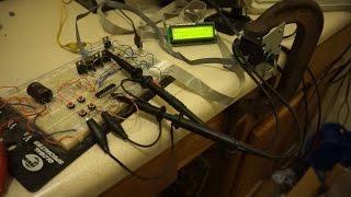 getlinkyoutube.com-Stepper motor circuit - Test 1