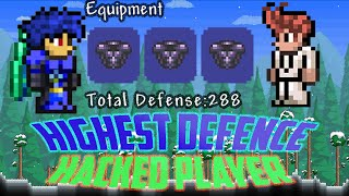 Terraria 1.2.4 Ios/Android Hacked 288 Highest Total Defense Player 2016