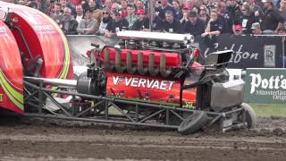 getlinkyoutube.com-Modified 2,5t @ Füchtorf Tractor Pulling 2015-04-26 by MrJo