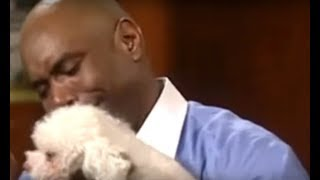 Judge Judy Lets Dog Find Its REAL Owner Inside Court width=