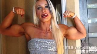 getlinkyoutube.com-Kylie Vandenbrand Women's Physique Muscle