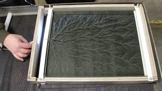 "getlinkyoutube.com-Birth of a 15 x 20 x 2"" Captured Lightning Sculpture (DSCN6566)"