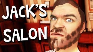 getlinkyoutube.com-WELCOME TO JACK'S SALON | The Barber Shop