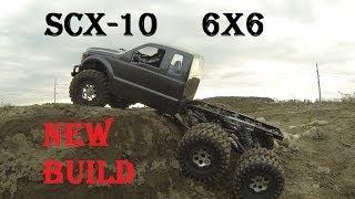 getlinkyoutube.com-RC CWR Honcho SCX-10 6X6 new project