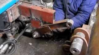 getlinkyoutube.com-Установка лопаты на перед трактора .