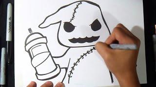 getlinkyoutube.com-Comment dessiner un fantôme graffiti