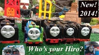 getlinkyoutube.com-Newly Redesigned 2014 Thomas and Friends Tale of the Brave Trackmaster Hiro!