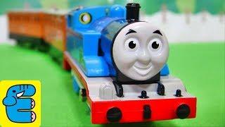 getlinkyoutube.com-プラレールトーマス#20 おしゃべりトーマス改 Plarail Thomas #20 Upgraded Talking Thomas the Tank Engine