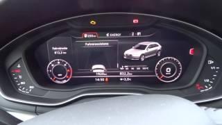 Audi A4 B9 8W 2.0TDI 150PS Virtual Cockpit, MMI, Tacho, Navi
