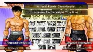 "getlinkyoutube.com-[GAMEPLAY] ""Victorious Boxers Challenge (Hajime no ippo)""[WII]"