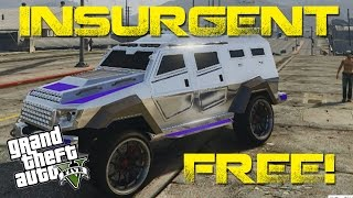 How To Get The INSURGENT FREE GTA5 Glitch 1.24/1.25 Heist Vehicle