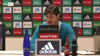 Rueda de prensa de Víctor Sánchez del Amo previa al Granada-Betis