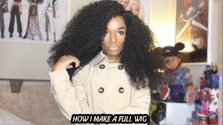 getlinkyoutube.com-How i Make a Full Wig With A SilkBase Closure ( Tutorial )