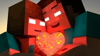 getlinkyoutube.com-If HEROBRINE Found A GIRLFRIEND - MINECRAFT ANIMATION