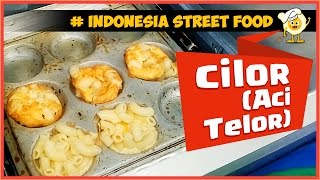 "Cheap Snack ""Cilor""  Indonesian Street Food [Eng Subtitle] - Asta And Food"