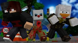 getlinkyoutube.com-Minecraft: TROCA - PALHAÇO ASSASSINO - Lucky Block PvP ‹ Ine ›