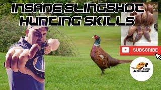 getlinkyoutube.com-Amazing catapult slingshot hunting all head shots