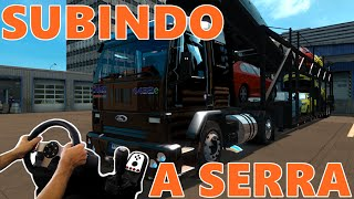 getlinkyoutube.com-EURO TRUCK SIMULATOR 2 - CARGO 4432 NA CEGONHA SUBINDO A SERRA, VOLANTE G27!!!
