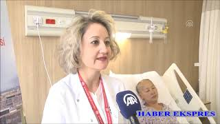 Parkinsonlu Kırgız hasta Türkiye'de sağlığına kavuştu
