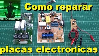 getlinkyoutube.com-Como reparar placas electronicas