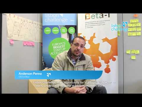 Anderson Penna from Bizut for Lisbon Challenge | Beta-i