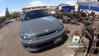 getlinkyoutube.com-MMPower Honda Civic HB EK4 K20 JDM (SmokeSilver) Project ᴴᴰ