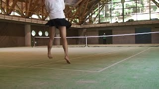 getlinkyoutube.com-女子テニス・リターン練習・打ち込み練習後のリターンが・・・テニス暴露サイト・動画ブログ Practice of beautiful women tennis players (Japan movie)