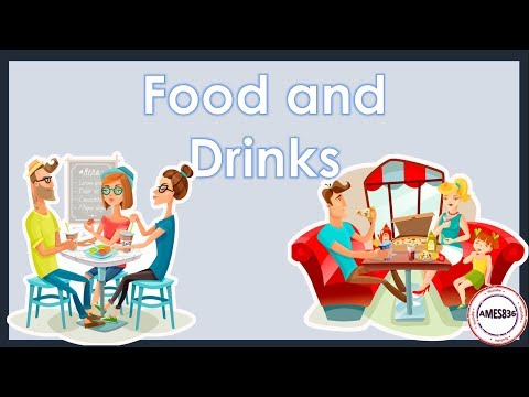ESL: Food and Drinks (with sound)