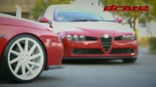 getlinkyoutube.com-Alfa Romeo 156 and 159 on VOSSEN.