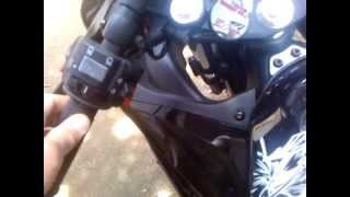 getlinkyoutube.com-Modifikasi Yamaha R15 Lampu non AHO, Kombinaasi Riting Ganda