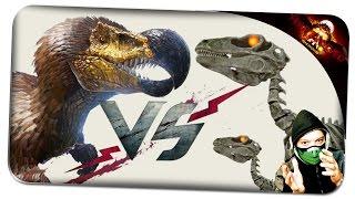 getlinkyoutube.com-DodoRex Vs. Skeleton Raptor Armee ✪ Ark: Survival Evolved German Deutsch | ARK SE
