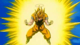 getlinkyoutube.com-Goku goes Super Saiyan 3 remastered HD (1080p)
